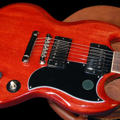 NEW! 2020 Gibson SG Standard '61 Stop Tail - Vintage Cherry Finish - Authorized Dealer - CASE for sale