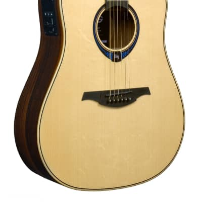 *Special Order - LAG THV30DCE Tramontane Dreadnought Cutaway Acoustic Guitar with Hyvibe for sale