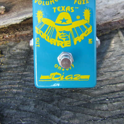 Diaz Square Face Fuzz Guitar Pedal NPN Germanium & Silicon *Free Shipping* for sale