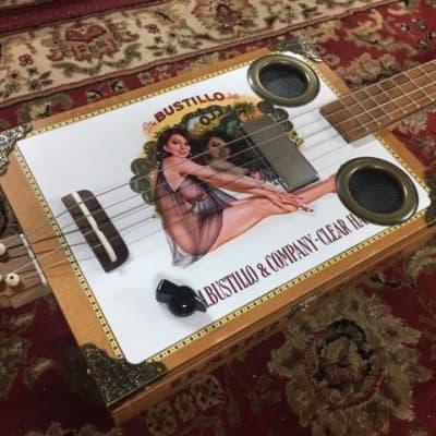 Daddy Mojo Classic Series 4 String Bustillo Cigar Box Guitar