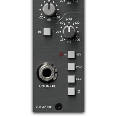 Solid State Logic 729731 X2 500 Series Vhd+ Preamp