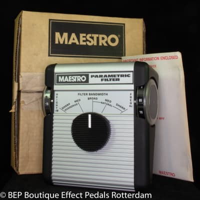 Maestro MPF-1 Parametric Filter 1977 s/n MPF2397 as used by Queens of the Stone Age, Triggerfinger for sale