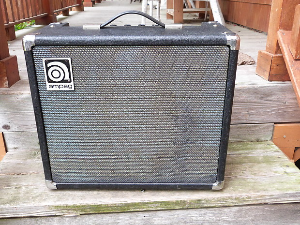 ampeg gt 10 guitar amp mid seventies reverb. Black Bedroom Furniture Sets. Home Design Ideas
