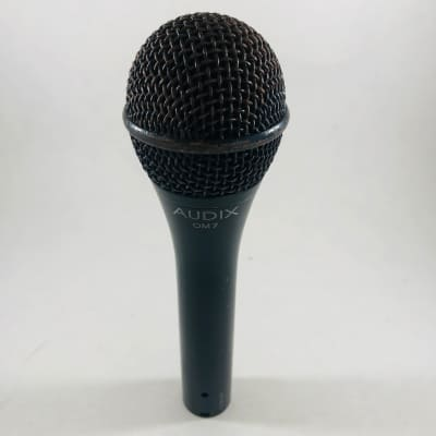 Audix OM7 Handheld Hypercardioid Dynamic Vocal Microphone  *Sustainably Shipped*