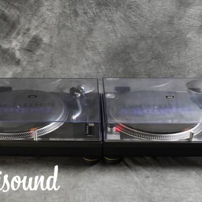 Technics SL-1200 MK3 Black [Pair] Direct Drive DJ Turntables in VG Condition