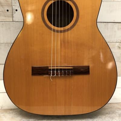 Goya Sweden G-10 Solid Spruce/Birch Classical Guitar 1958 w/Original Chipboard Case for sale