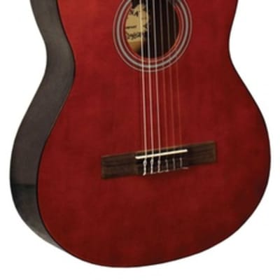 Indiana IC-15 Classical Shape Basswood Top Full Size Nylon 6-String Acoustic Guitar