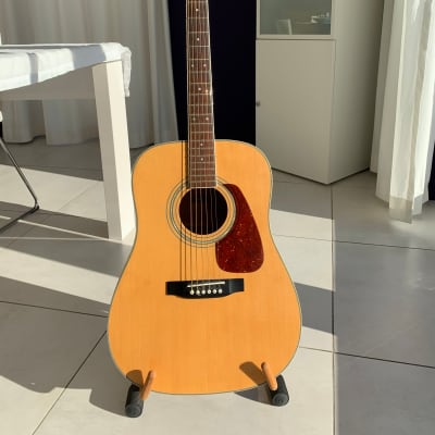 Morris MD-301N | 1970s Dreadnought Acoustic Guitar | Like Martin D-18 for sale