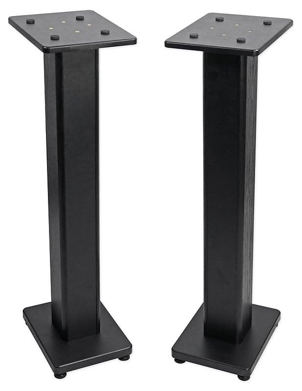 "pair 36"" bookshelf speaker stands for klipsch r-14m | reverb"