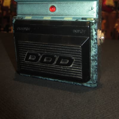 Vintage Circa 1988 DOD FX100 Integrated Tube Even Harmonic Overdrive for sale