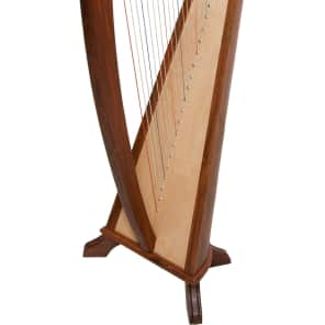 "Early Music Shop HRB22 36"" 22-String Hailey Harp"