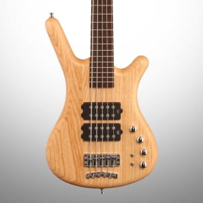 Warwick GPS German Pro Series Corvette $$ 5-String Bass Natural