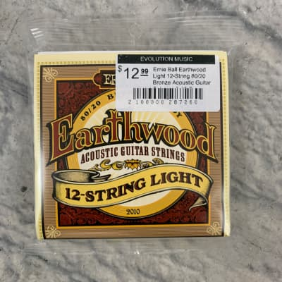 Ernie Ball Earthwood 12-String Light 80/20 Bronze Acoustic Strings 9 - 46