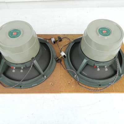 """PAIR Vintage 1960 Knight 800A 12"""" Triaxial 16 Ohm Speakers made by JENSEN """"Sound/Look Excellent"""""""