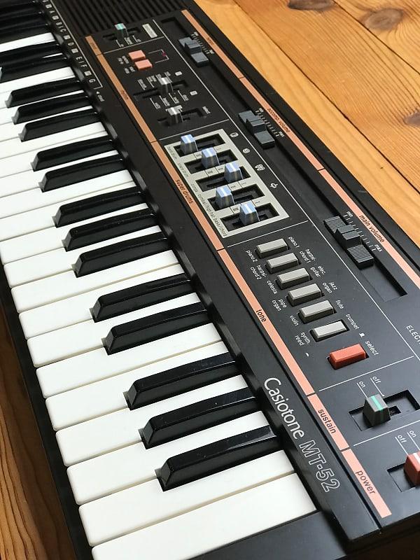 Casio MT-52 vintag Drum-/ Rhythm-/ Groove Machine / Keyboard   Reverb