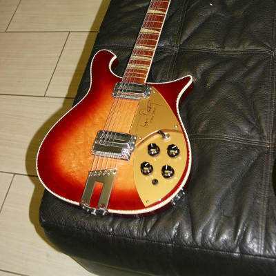 Rickenbacker 660-12 Tom Petty Signature Fireglo + COA and OHSC 1992 for sale