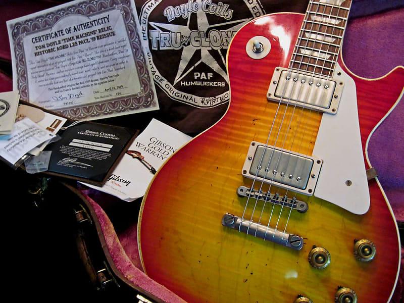 9cf3da7d25 Gibson Les Paul '59 Reissue ~Tom Doyle