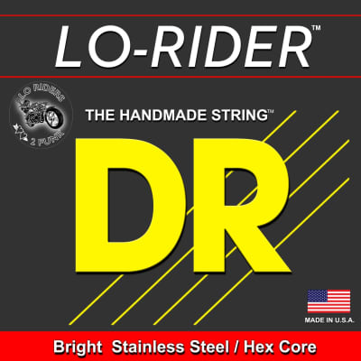 DR Bright Stainless Steel Lo-Rider 45-105 Bass String 45 65 85 105