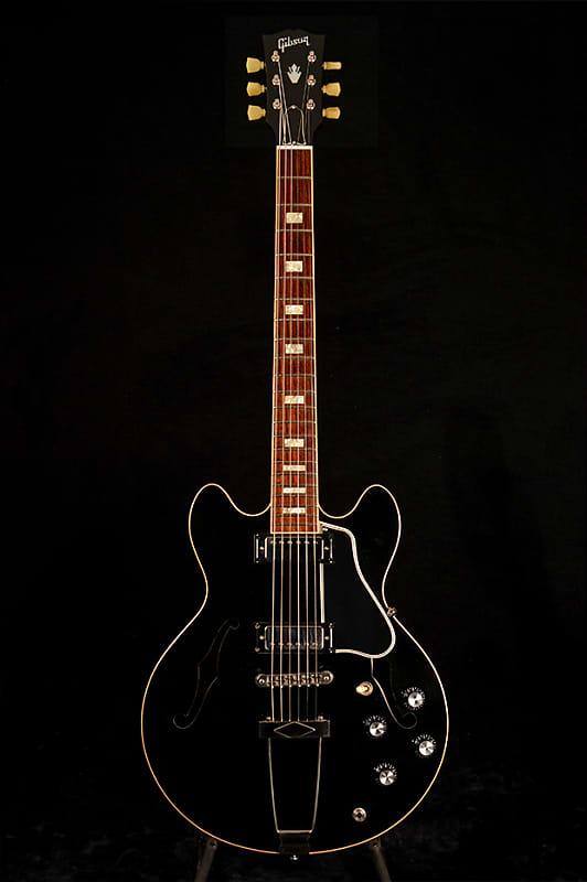 es 390 plain ebony Gibson