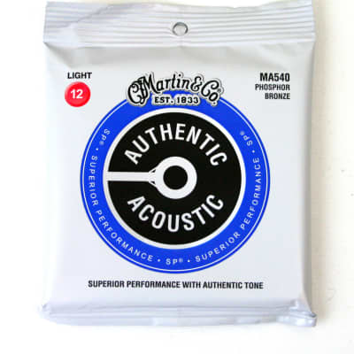 Martin MA540 Superior Performance Acoustic Guitar Strings 12-54