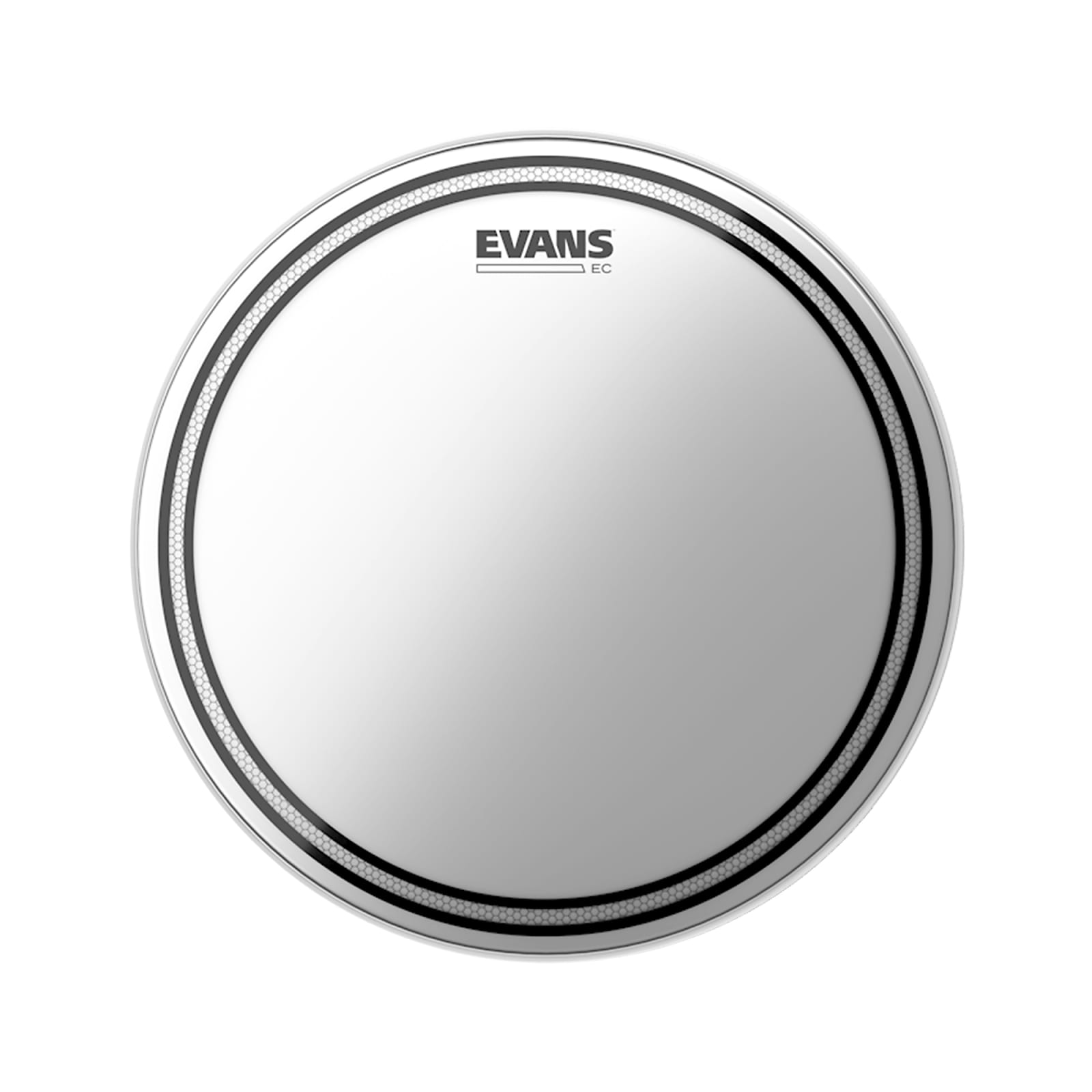 Evans Hydraulic Black Drum Head 8 Inch