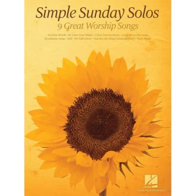 Simple Sunday Solos: 9 Great Worship Songs (Beginning Piano Solos)