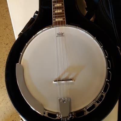 Fender Robert Schmidt Plectrum Banjo 2016 Natural Mahogany