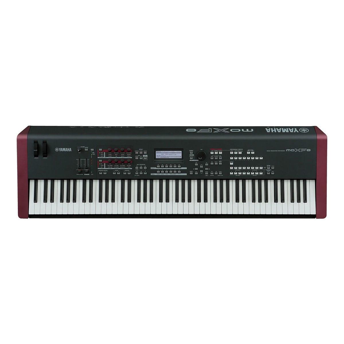 Yamaha moxf8 workstation synthesizer keyboard used reverb for Yamaha synthesizer keyboard