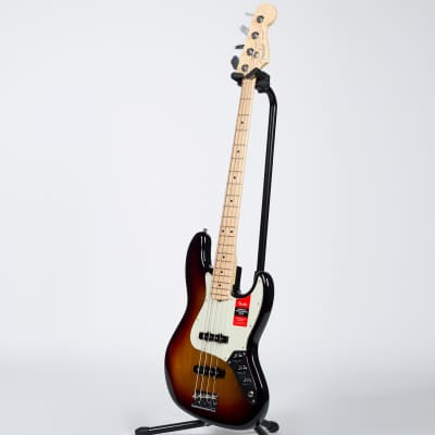 Fender American Professional Jazz Bass - Maple, 3-Color Sunburst for sale