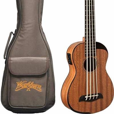 Oscar Schmidt OUB200K Comfort Series Bass Ukulele w/ Bag