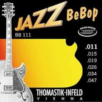 Thomastik-Infeld BB111 Jazz Bebop Round Wound Set, 11-47