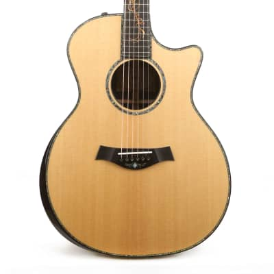 Taylor Custom Shop Grand Auditorium Milagro Brazilian Rosewood Acoustic-Electric Roadshow Exclusive for sale