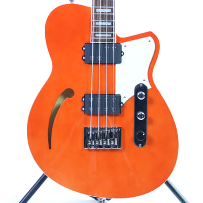 Used Reverend DUB KING Bass Guitars Orange for sale