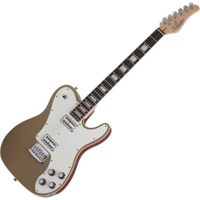 Schecter PT Fastback - Gold Top for sale