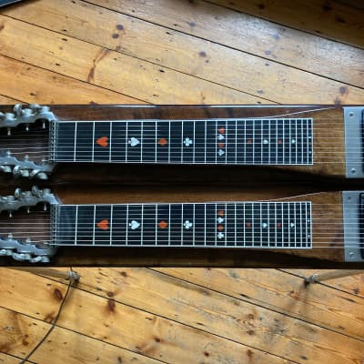 Sho-Bud Pro II double neck Pedal Steel Guitar (1974) for sale
