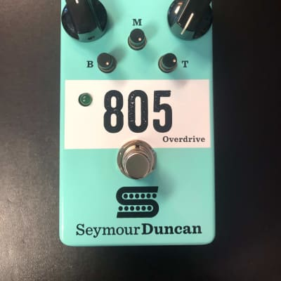 Seymour Duncan 805 Overdrive Stomp Box Pedal