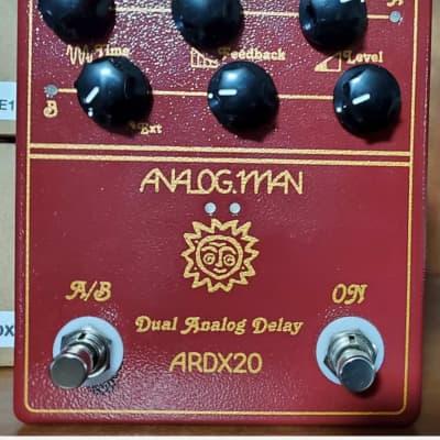 Analogman ARDX20 Dual Analog Delay (Flat Box) 2014