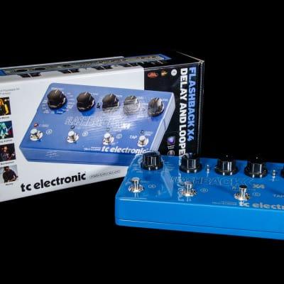 TC Electronic Flashback X4 Delay Pedal