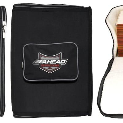 Ahead Bags - ARCAJ2 - Cajon Deluxe w/Back Pack Straps 21 x 15 x 15
