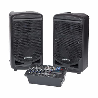 Samson Expedition XP800 800 Watt Portable PA with Bluetooth & 8 Channel Mixer