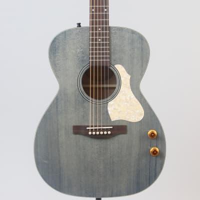 Art & Lutherie Legacy Q-Discrete Guitar | Denim Blue for sale