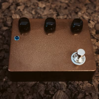 Pedalmonsters 2021 Overdrive Pedal: Burnt Copper