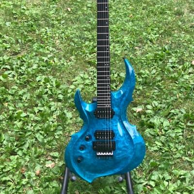 RARE!  ESP FRX - CTM (Custom Shop) 2013 Liquid Metal Blue for sale