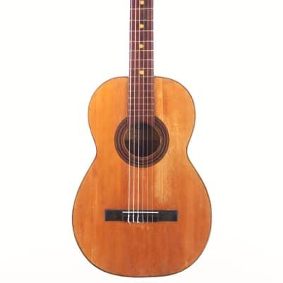 Juan Galan Caro 1896 romantic guitar - rare and collectable - disciple of Antonio de Lorca for sale