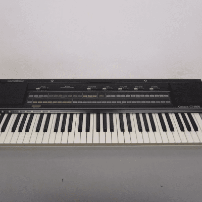 Casio CT-6000 61-Key Synthesizer Late 1980s