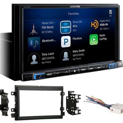 """Alpine 7"""" Digital Media Receiver CarPlay/XM Ready For 2004-2006 Ford F-150"""