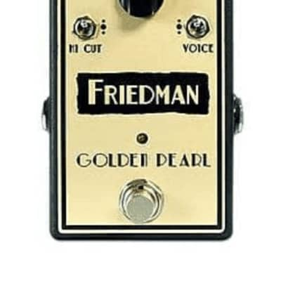 Friedman Golden Pearl Overdrive Pedal for sale