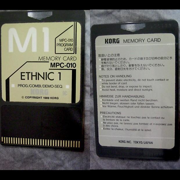 Korg M1 / M1r - MPC-10 / MSC-10 Ethnic 1