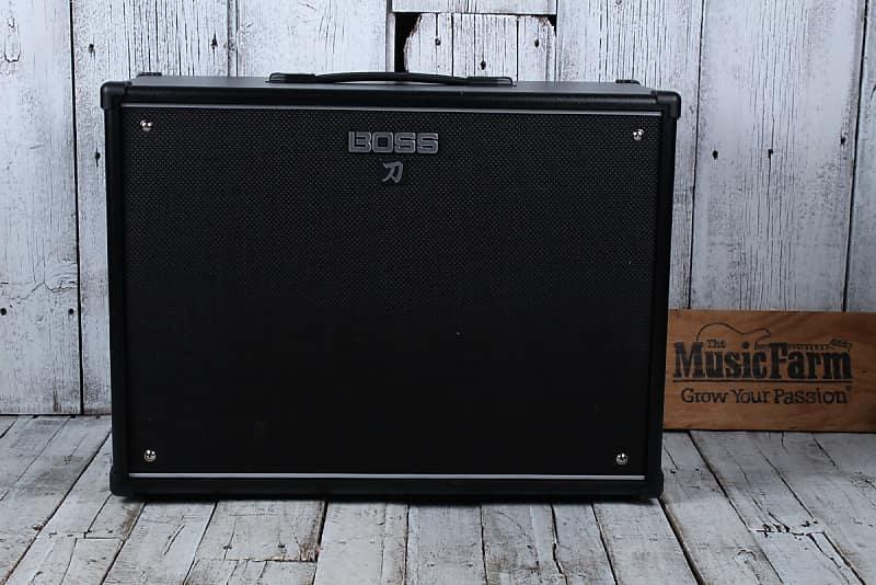 boss katana cabinet 212 electric guitar speaker cabinet 150 reverb. Black Bedroom Furniture Sets. Home Design Ideas