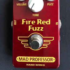 Mad Professor Hand Wired Fire Red Fuzz
